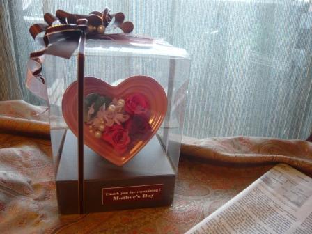 2011.4母の日に贈る♪ハートのプリザギフトp4