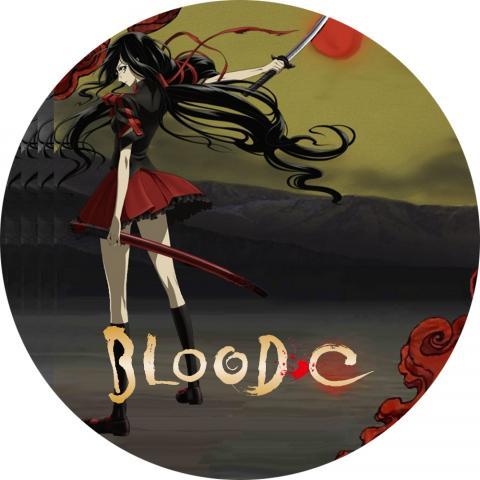 (DVDラベル) BLOOD-C