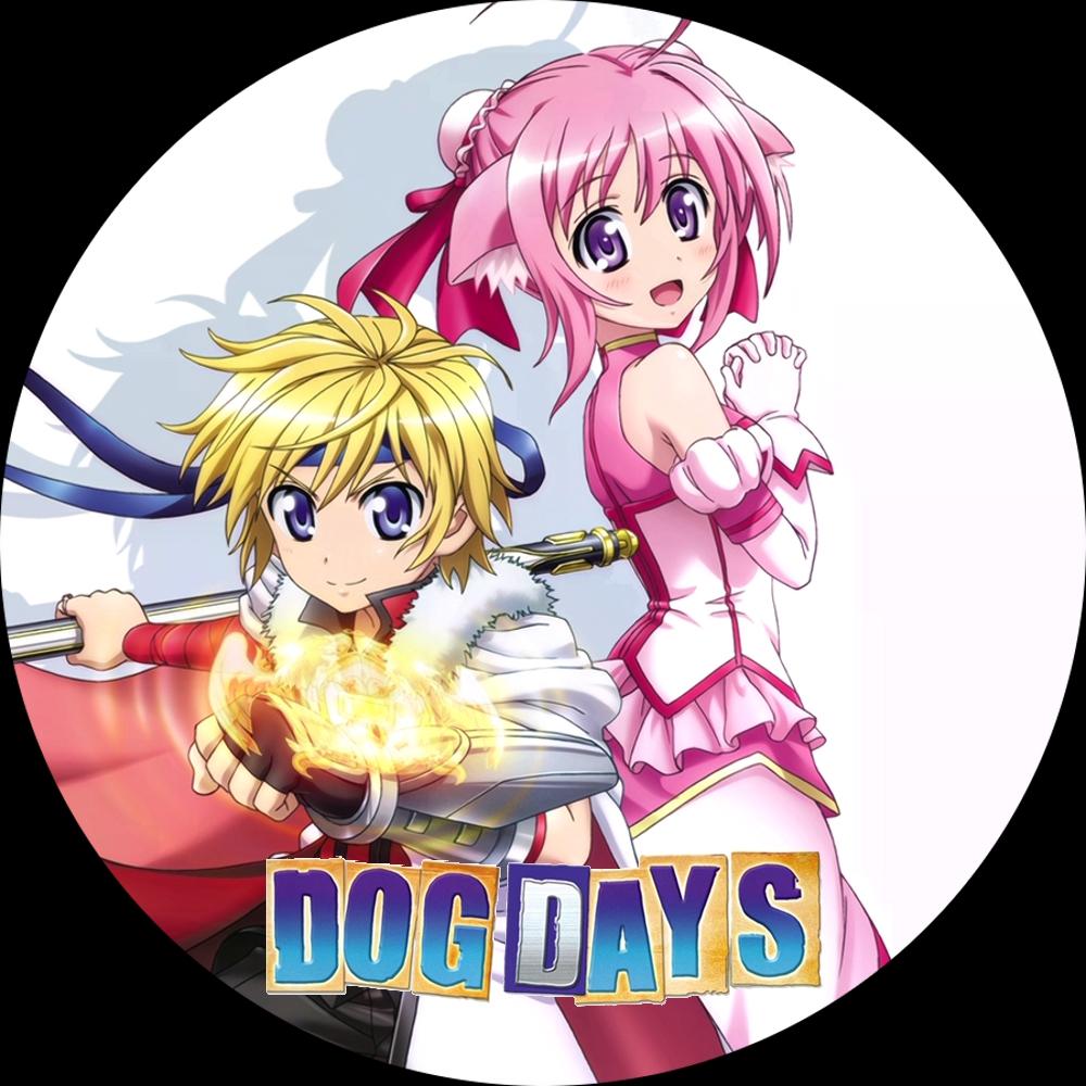 (DVDラベル) DOG DAYS (ドッグデイズ)