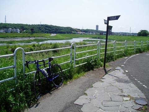 境川遊水公園前