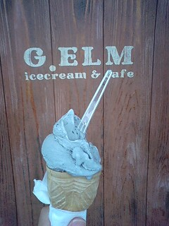 g.elm黒ごまアイス