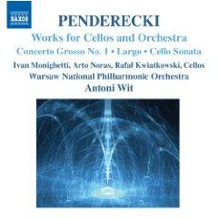ペンデレツキ チェロとオーケストラための作品集