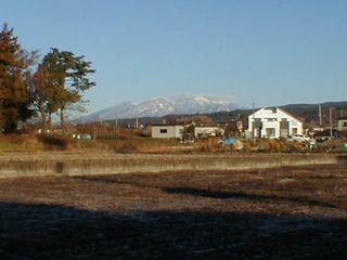 八ヶ岳雪化粧