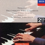 プロコフィエフ、ピアノ協奏曲全集
