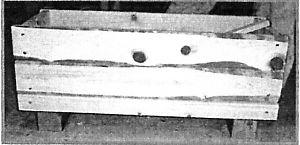 山梨県産檜間伐材使用プランターボックス