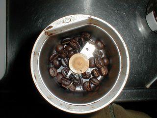 一杯分のキリマンジャロ豆