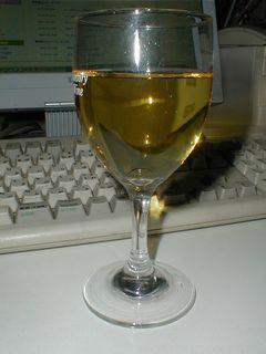 黄金色のワイン