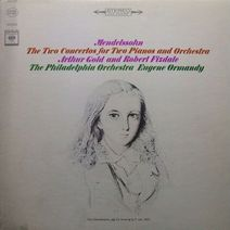 メンデルスゾーン2台のピアノのための協奏曲集