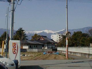 雪の白根三山