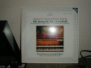 J・S・BACH2台のチェンバロのための協奏曲