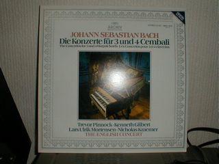 J・S・BACH3台、4台のチェンバロ協奏曲