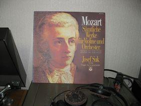 モーツアルト ヴァイオリン協奏曲K216、K219