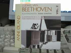 べートーベン作曲ピアノソナタ葬送、月光他