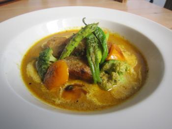 C夏野菜のポークカレー