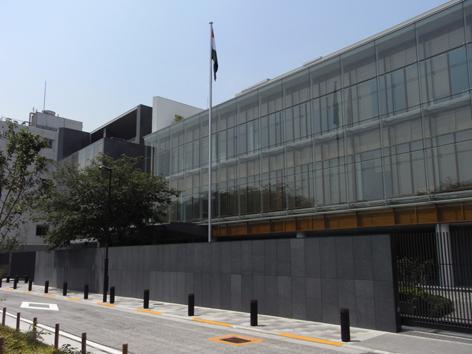インド大使館2