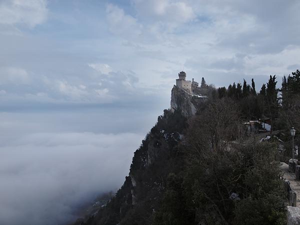 サンマリノの雲海