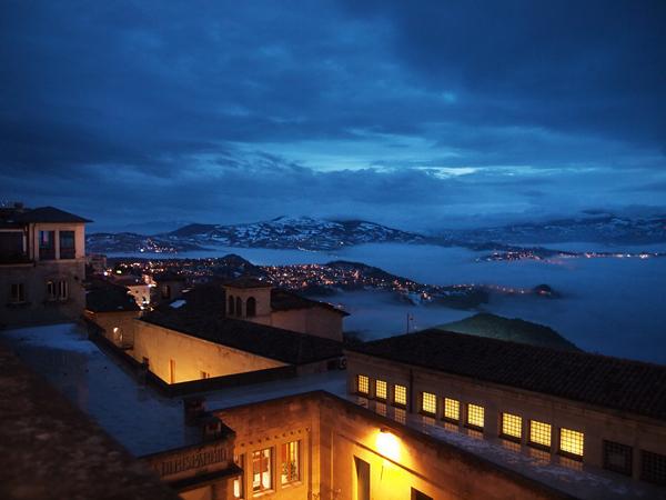 サンマリノの夜景1