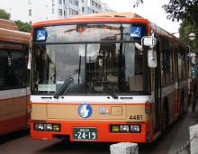 もと市営バスの4481号車