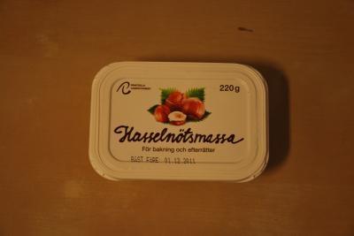 ヘーゼルナッツマッサ