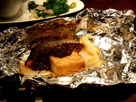 鮭フキ味噌
