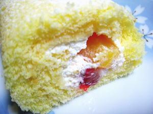 フルーツ+生クリーム、程よい甘さがgood!