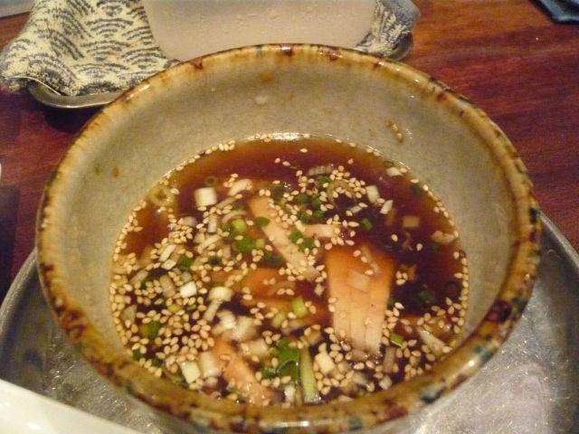 涼夏つけ麺のつけ汁