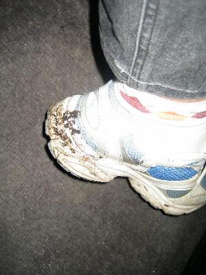 あたしの靴はどろどろ~