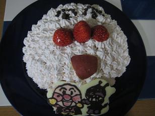 アンパンマンケーキ