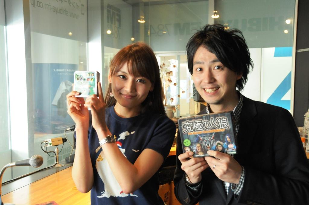 4/10にSHIBUYA FMに生出演してきました!