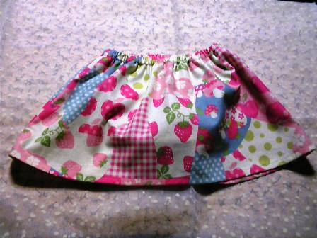 ブルマ付きスカート (1)