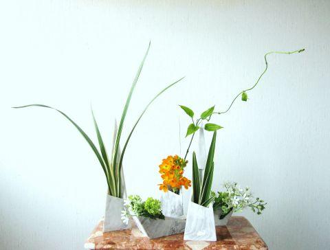 複数花器に生ける 001_480