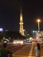 テレビ塔(夜)