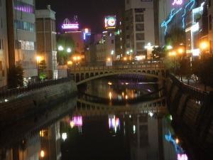 堀川橋(夜)