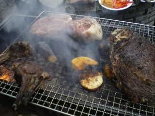 バーベキュー お肉