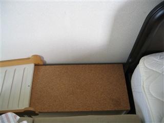 ベッド用補助台③