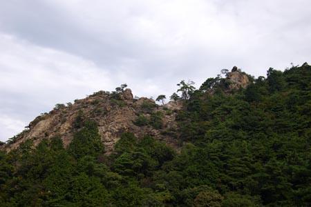 林道加賀田滝畑線より
