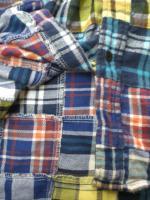 フランネル パッチワークシャツ