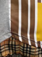 スカーフ七分袖Tシャツ