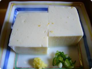 とき川 ゆず豆腐