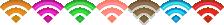 ステータスアイコン(Wi-fi)カラーバリエーション