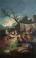 Goya Las lavanderas