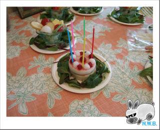 空くんお迎え記念のケーキ