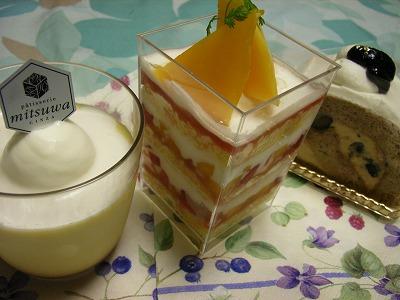 2100円のケーキ