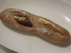レトロのソーセージパン