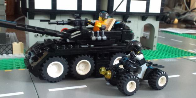 CVー540 オルトロス(装輪戦車)...