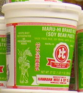 ハワイアン味噌醤油会社製