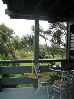 カパアウの宿の庭2
