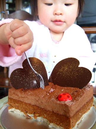 ケーキとしめじ