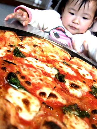 カクタスピザをねらうしめじ