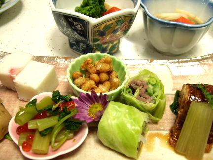 赤石荘料理1